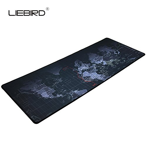 Portable large desk pad non slip rubber base world map 315x118 what are pros of putting keyboard on a mouse mat it looks awesome machine washable neatly fits on glass surfaces desks tables allowing an easy gumiabroncs Image collections
