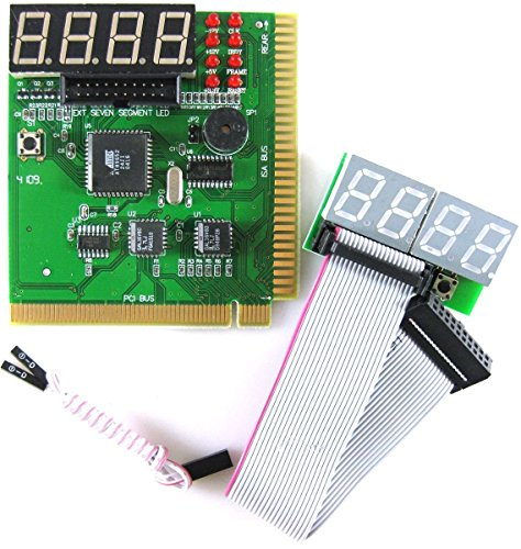 Insten 20 / 24-pin Power Supply Tester for ATX / SATA / HDD, Black ...
