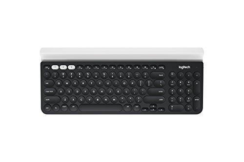Logitech Bluetooth Multi-Device Keyboard K480 for Computers, Tablets