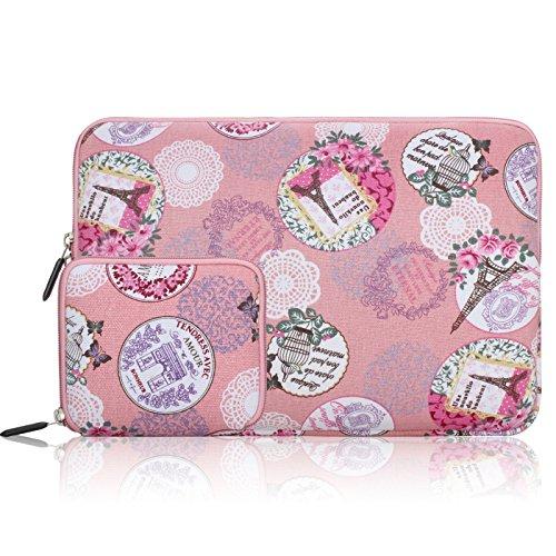 c58cc0decbce Arvok 11 11.6 12 Inch Canvas Fabric Laptop Sleeve With Extra Bag ...