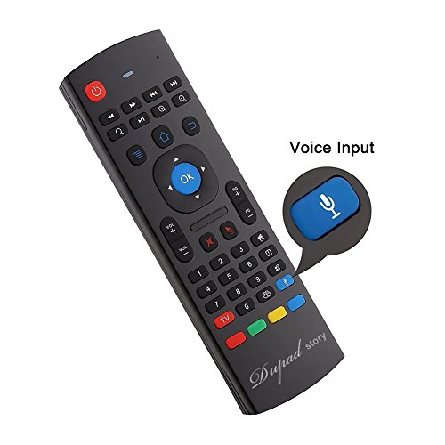 Air Remote Mouse 2 4GHz Mini Wireless Keyboard Mouse with Voice