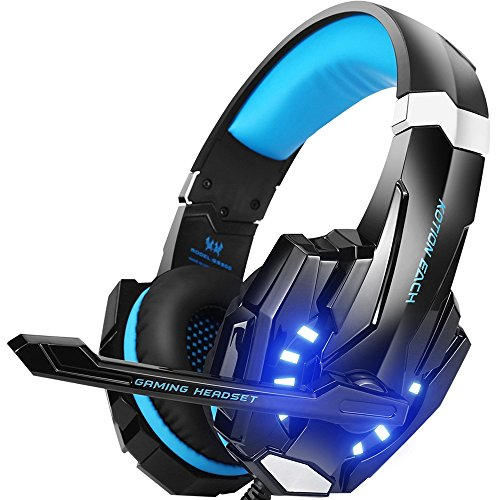 BENGOO Professional Wired Gaming Headset with Microphone for