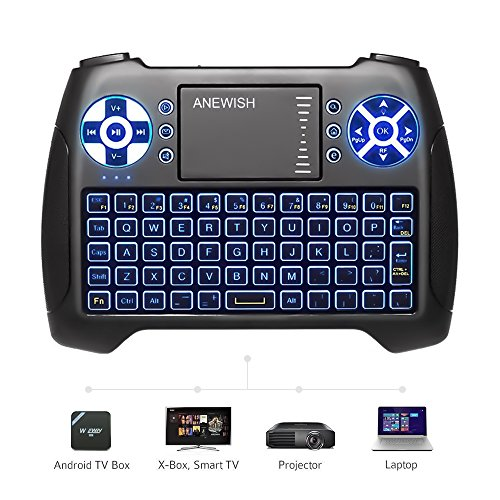 ABOX i10 Mini Wireless Keyboard, GooBang Doo 2 4GHz Multi