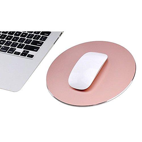 220 220mm rose gold topyart metal mouse pad circular reversible