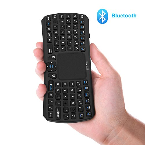 Air Mouse,V VONTAR 2 4GHz Mini Wireless Keyboard With Gyro Mouse