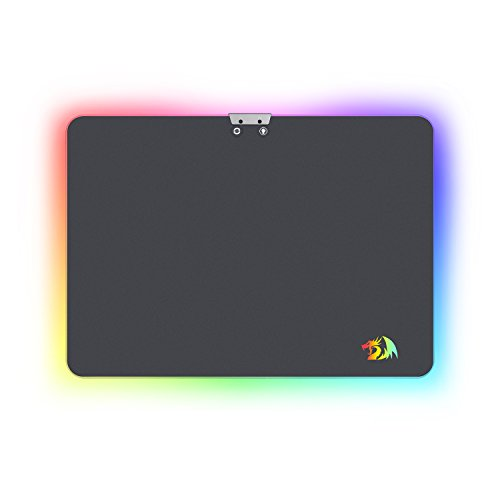 dd963fbfb2d Looking to take your gaming to the next level? look no further than the  redragon P010 Aurora Wired RGB LED Gaming Mouse Pad and Light Up your Game  RGB mouse ...