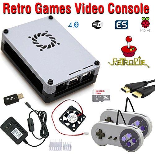 Raspberry Pi 3 based retro games emulation system retropie – 32GB