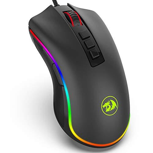 BlueFinger Led RGB Soft Gaming Mouse Pad,Rainbow Led Mouse
